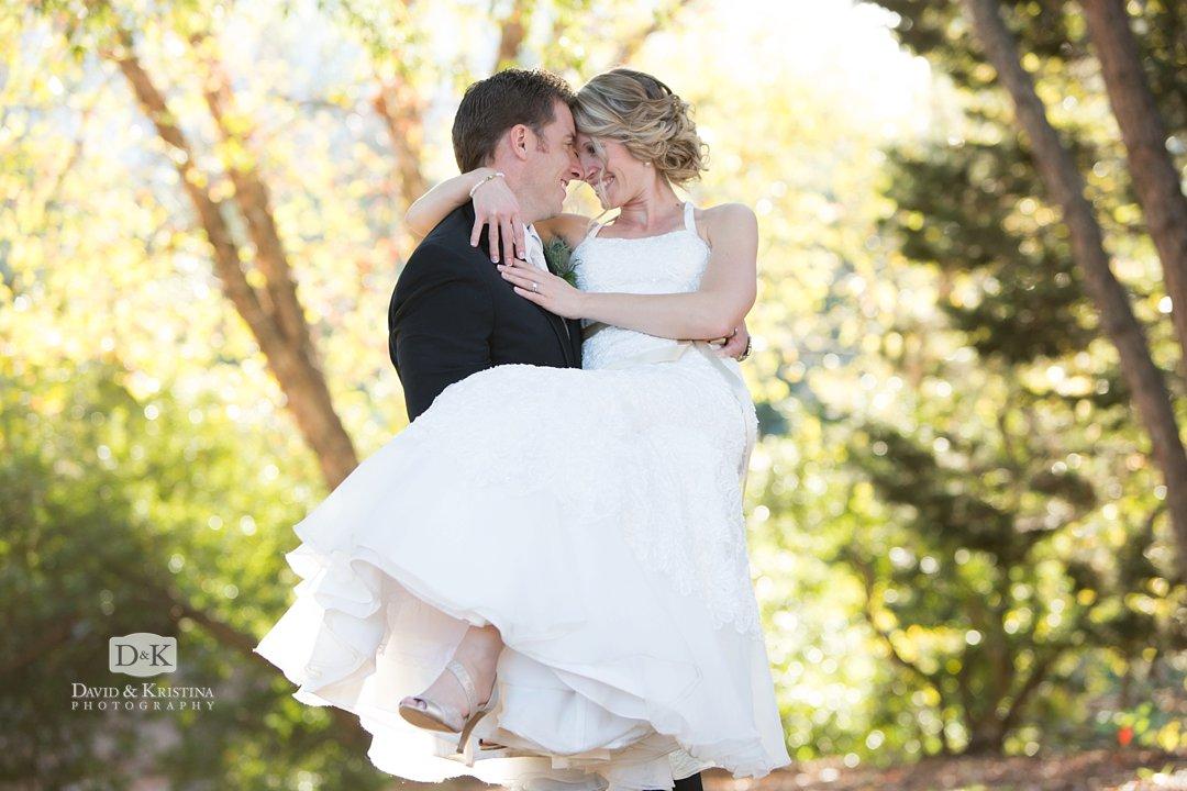Wedding photos at Reedy River Peace Center Larkins wedding