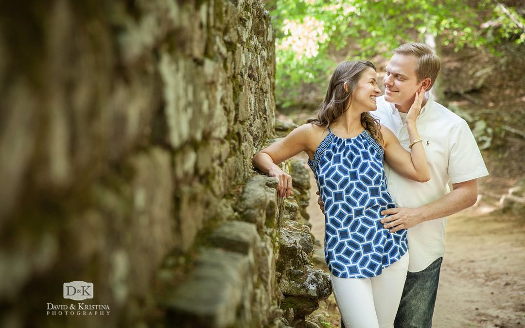 Poinsett Bridge and Campbell's Covered Bridge Engagement Session | Trevor and Kim