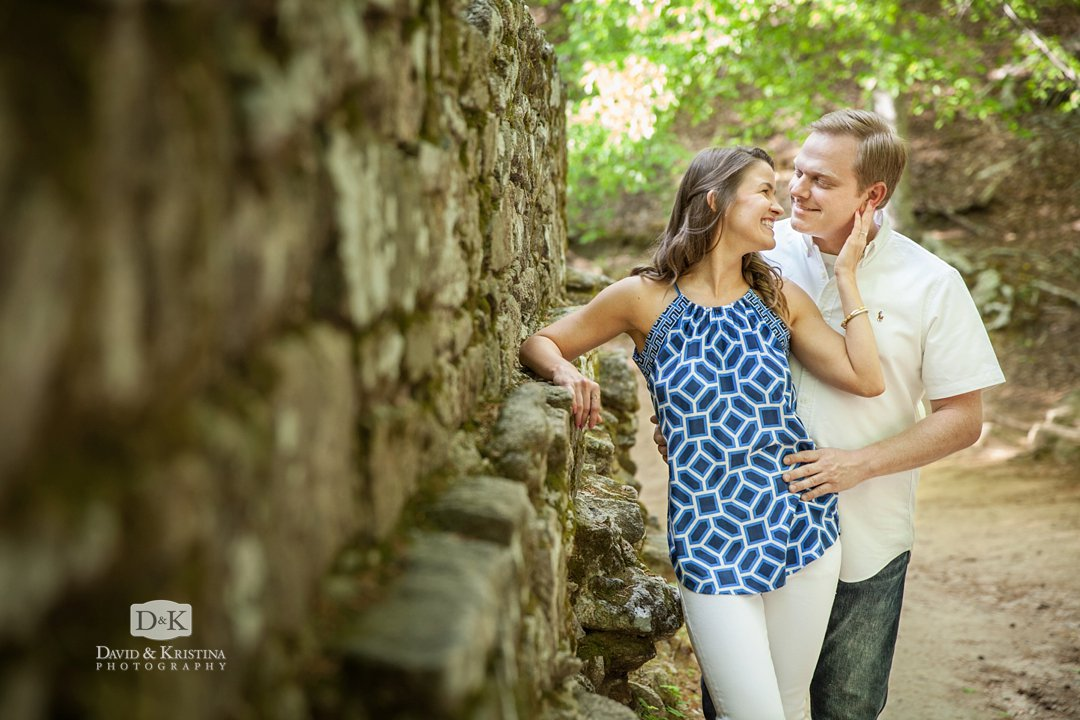 Poinsett Bridge engagement photos