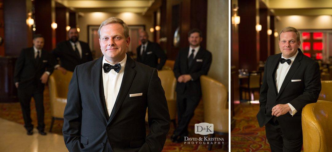 wedding photos at Marriott Greenville