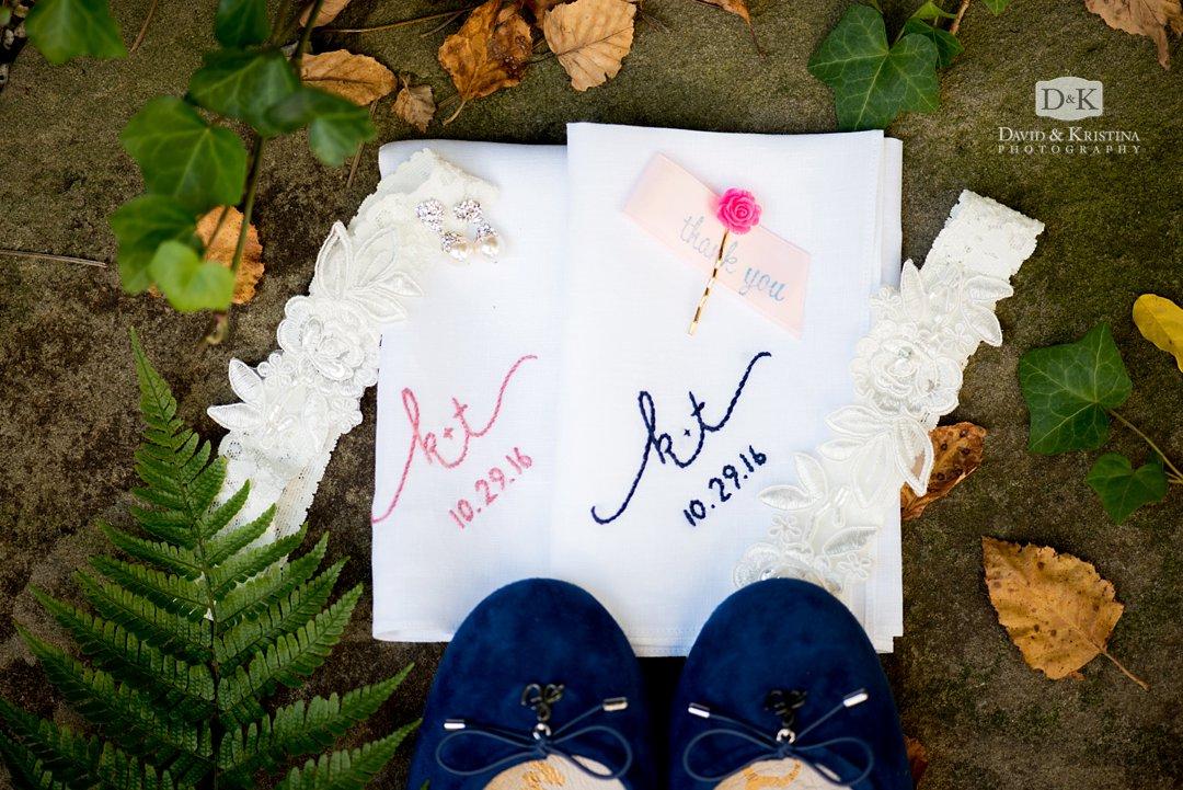 monogramed handkerchiefs
