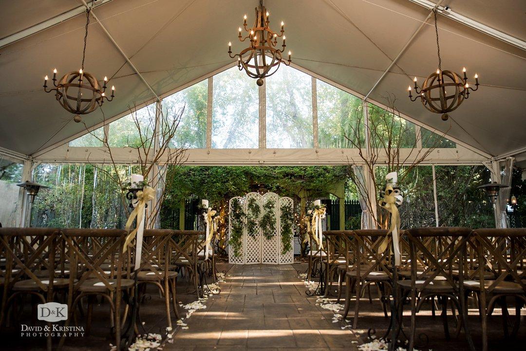 Twigs Tempietto wedding ceremony site
