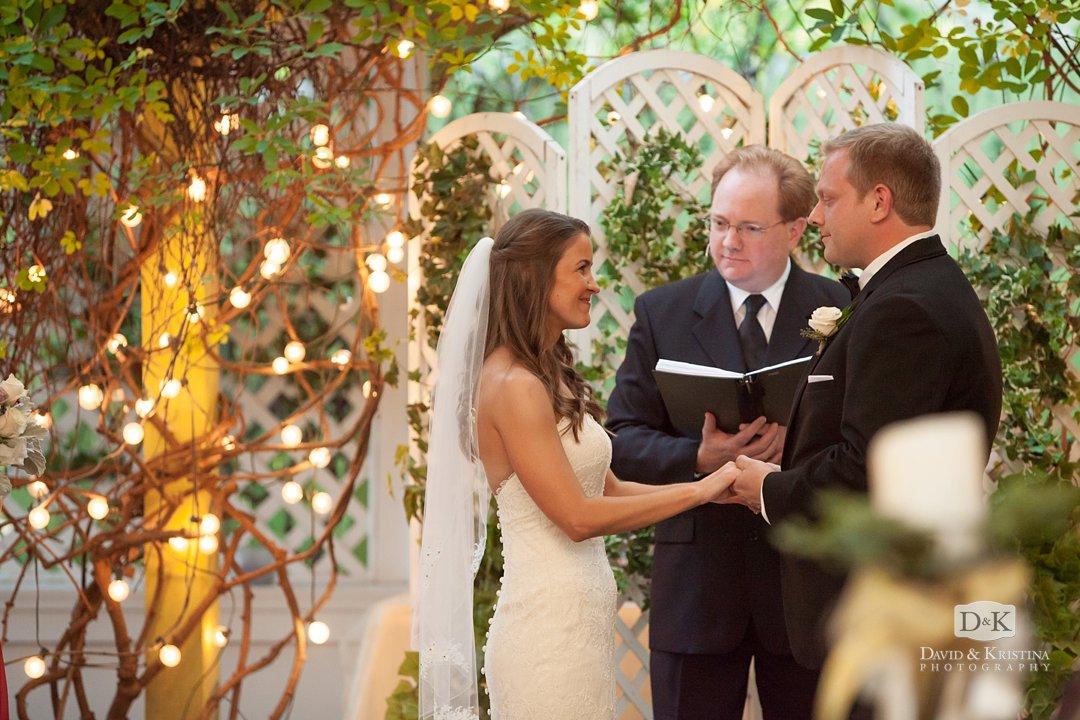 Twigs Tempietto wedding ceremony