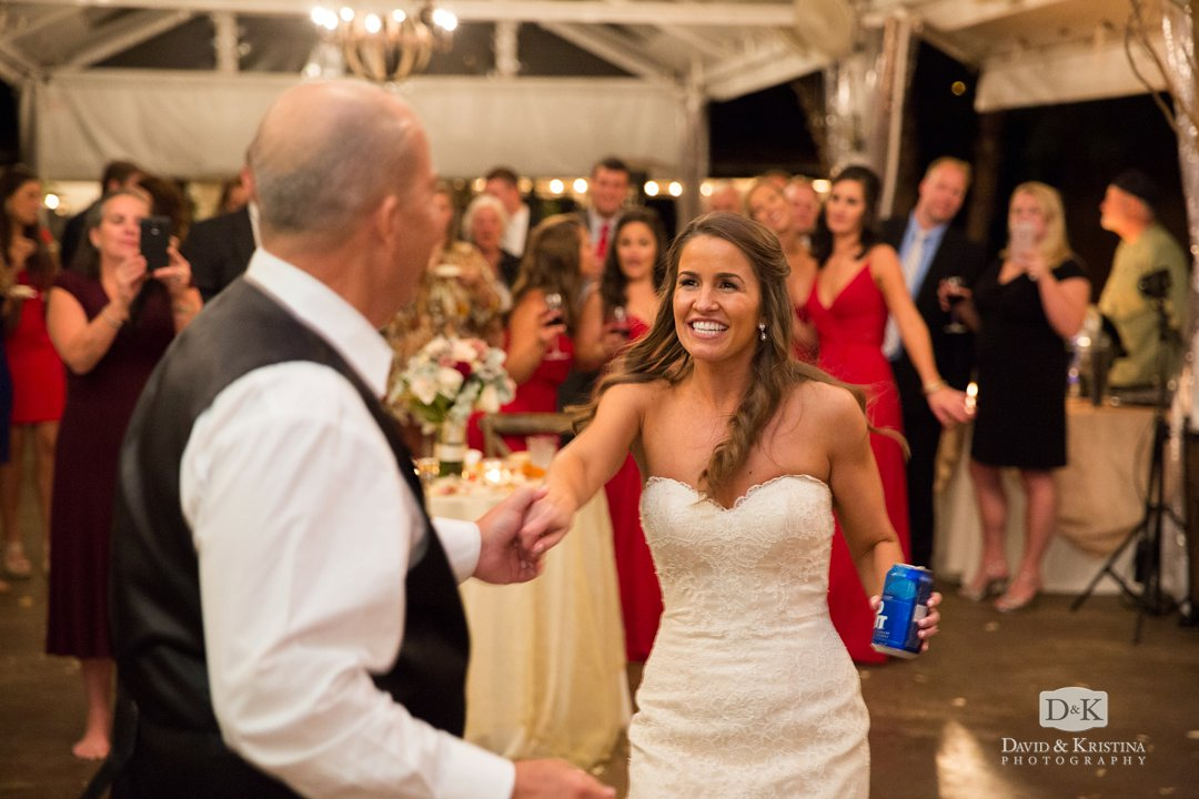 Father daughter dance at Twigs wedding