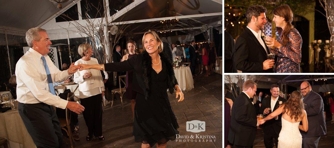 dancing at Twigs wedding reception