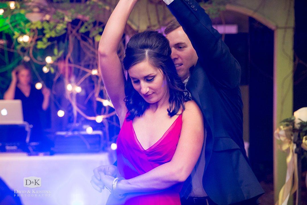 dancing with Erica Berg DJ