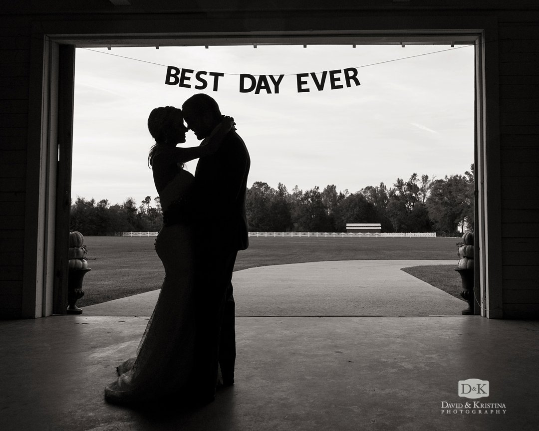 bride and groom first dance Best Day Ever