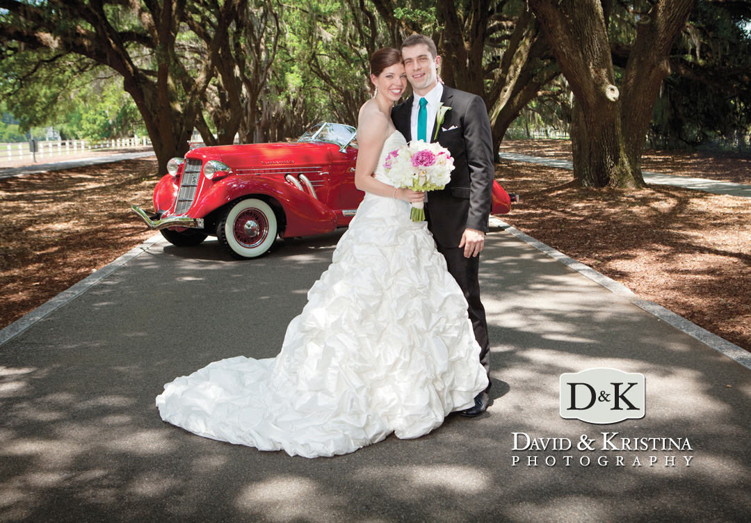 Belfair Plantation Wedding Avenue of Oaks