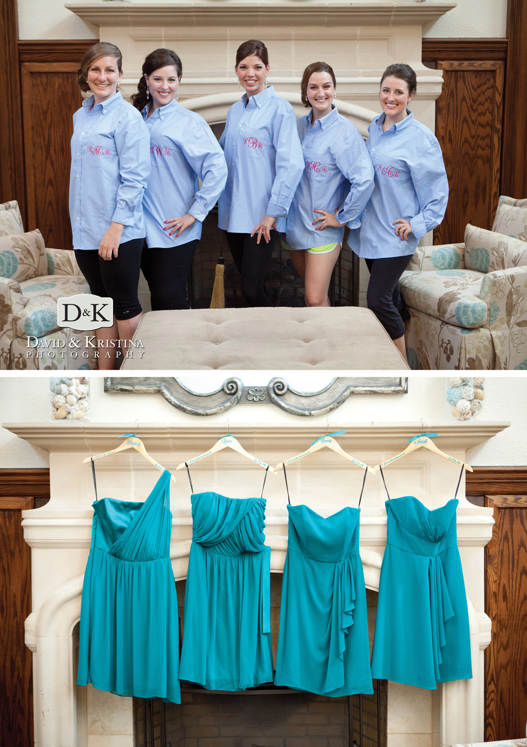 bridesmaids and dresses