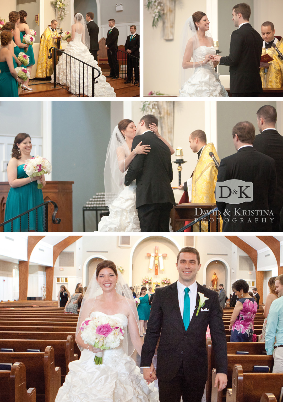 wedding at St. Gregory the Great