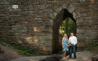 Poinsett Bridge Engagement Photos | Cody and Amber