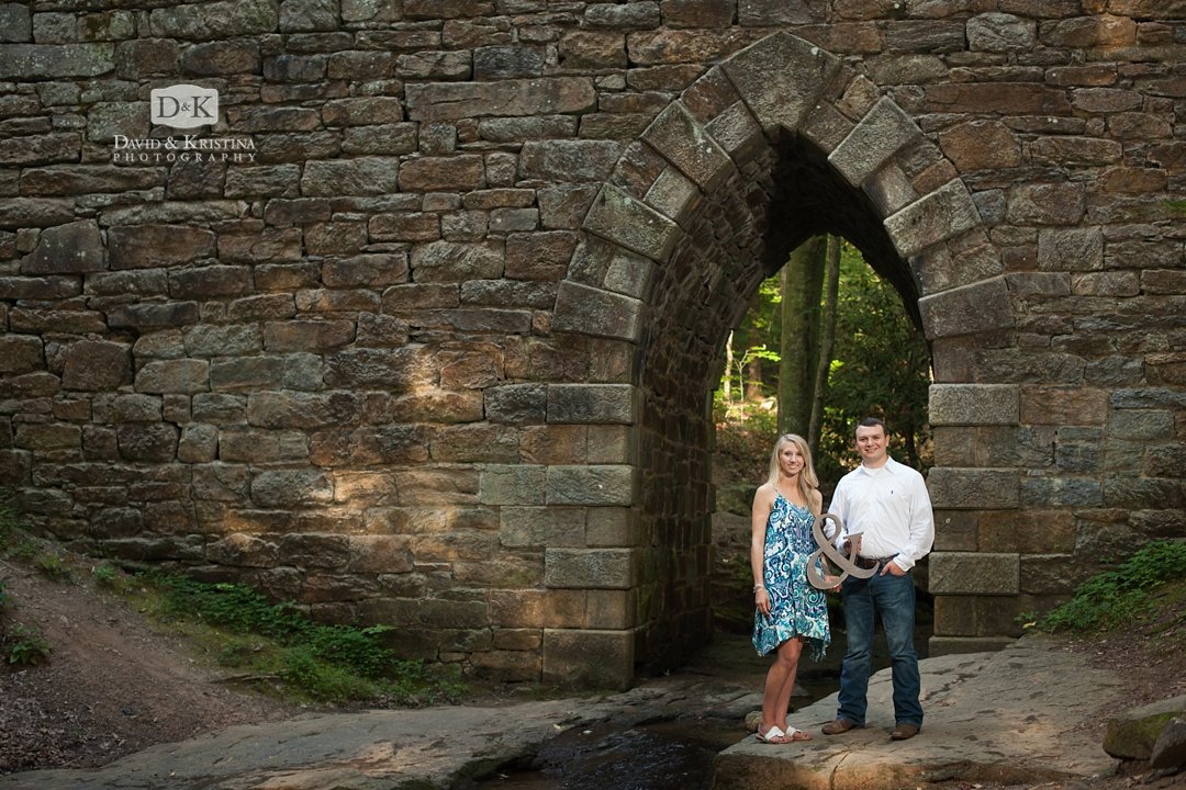 Poinsett Bridge engagement picture