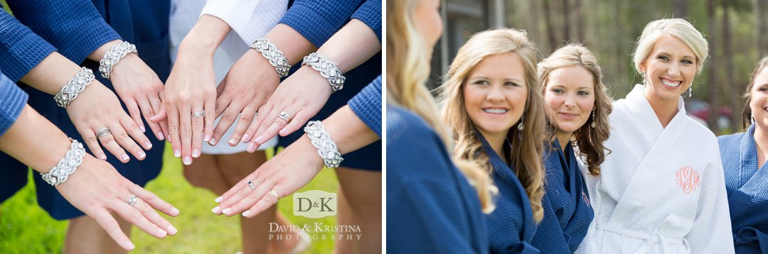 matching bracelets bridesmaids gifts