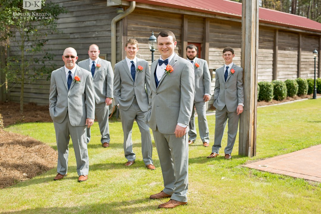 Cody and groomsmen