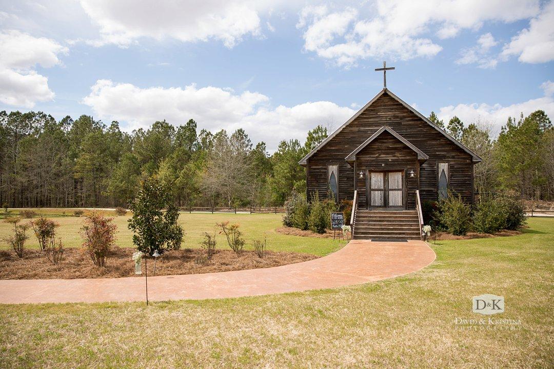 Hidden Acres wedding chapel