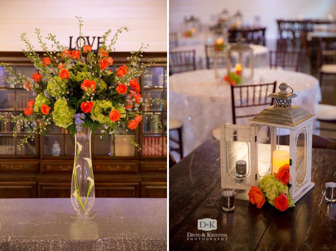 Floral arrangements by Jackson & Strickland Floral Designs