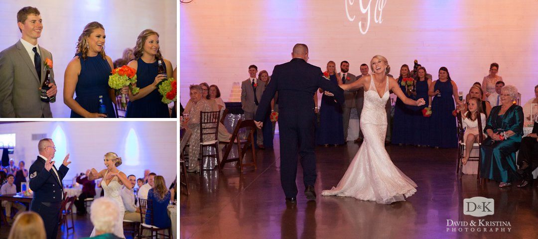 choreographed father daughter dance