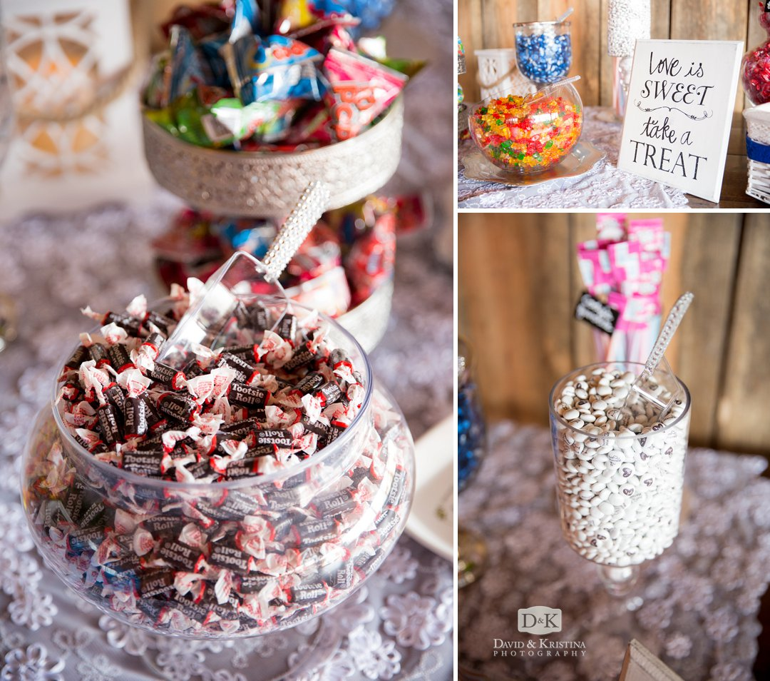 love is sweet take a treat candy bar for wedding