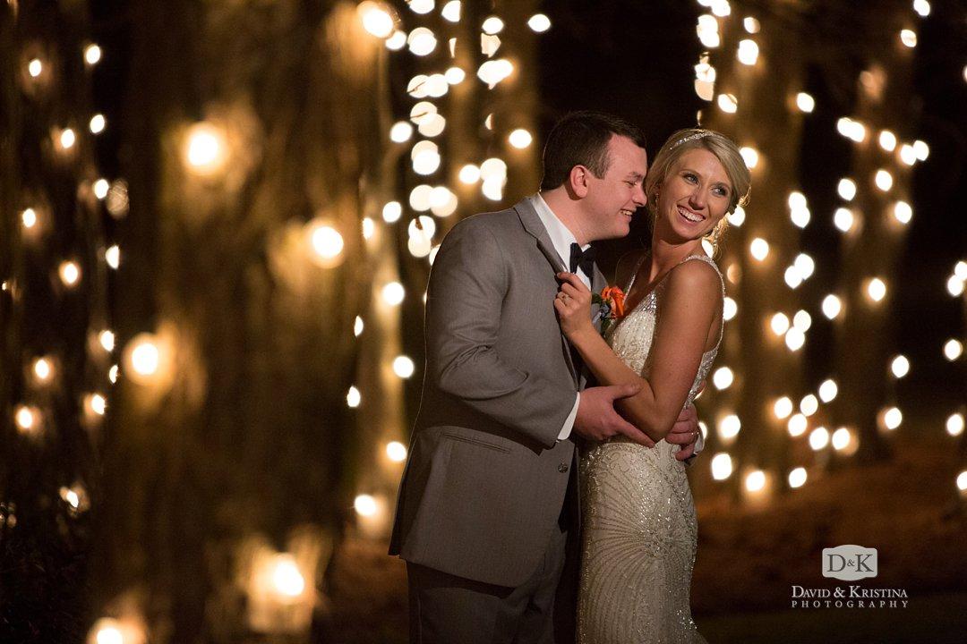bride and groom at Hidden Acres wedding