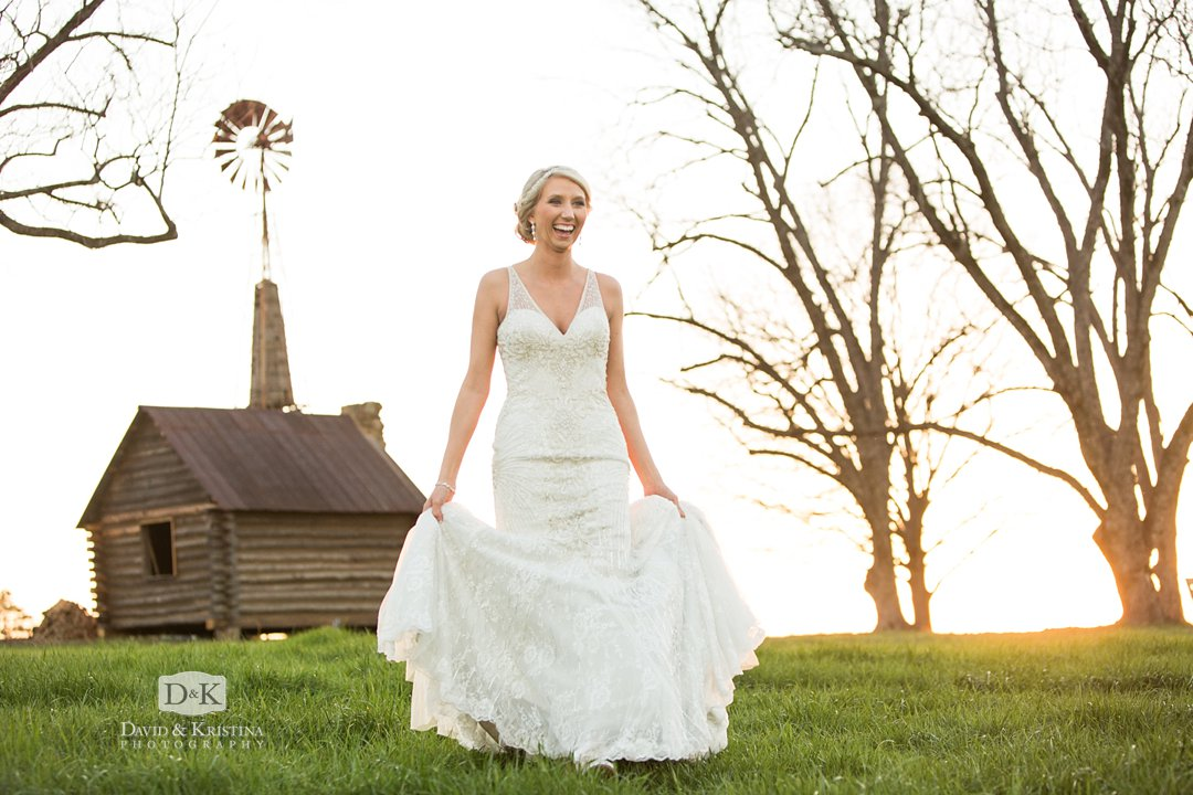 windmill at Windy Hill farm barn wedding venue Simpsonville