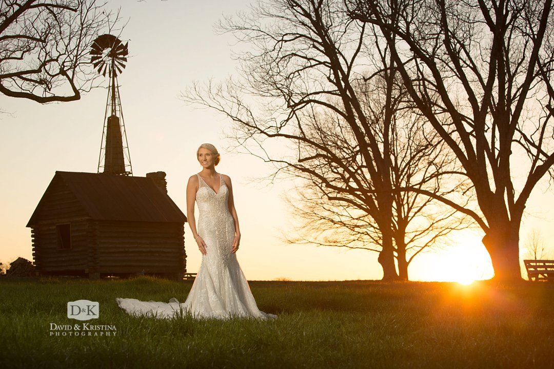 Windy Hill Wedding and Event Barn wedding venue Simpsonville at sunset