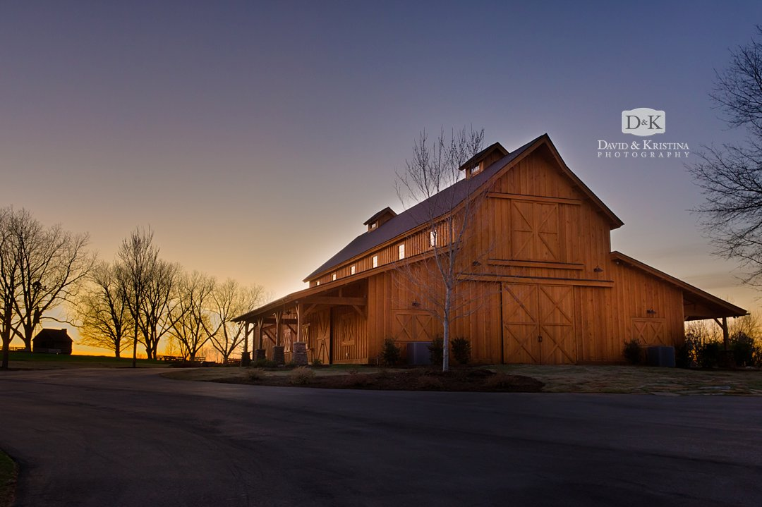 Simpsonville barn wedding venue Windy Hill