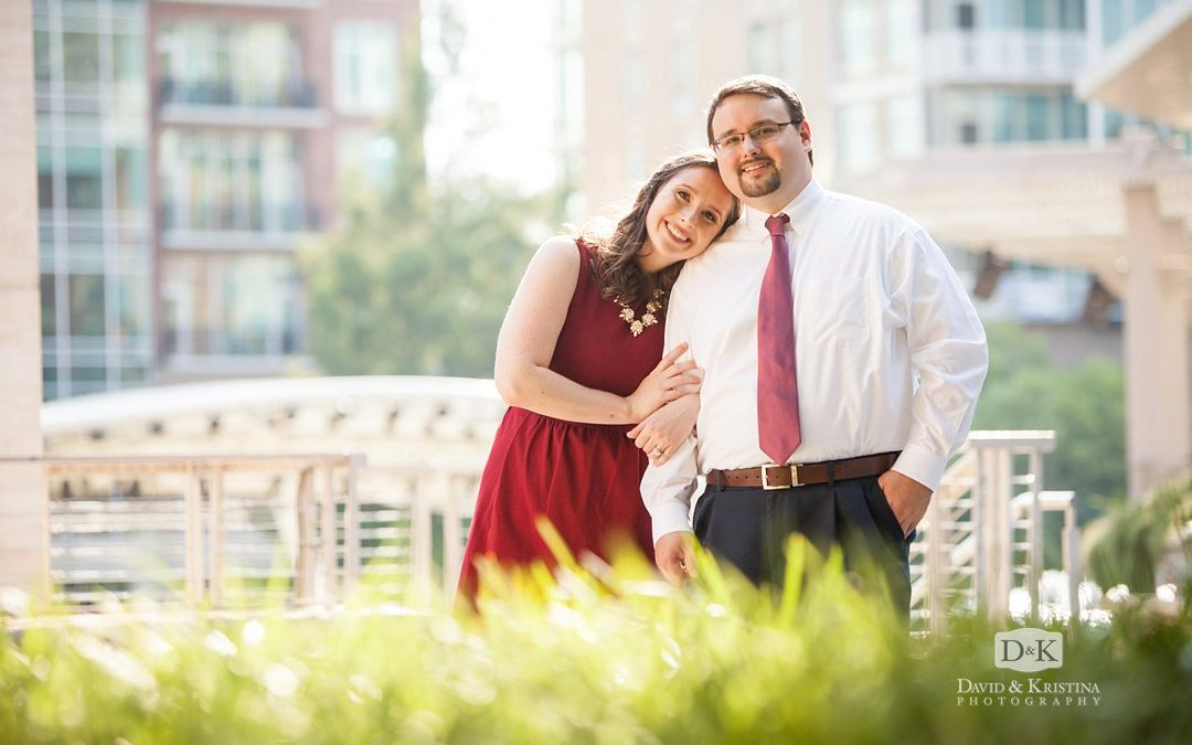 Engagement Photos in Downtown Greenville | Andy and Carrie
