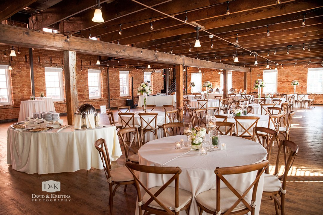 Larkin's Shirley Roe Cabaret Room wedding