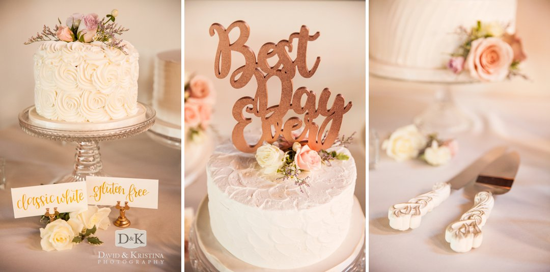 wedding cakes by Couture Cakes of Greenville