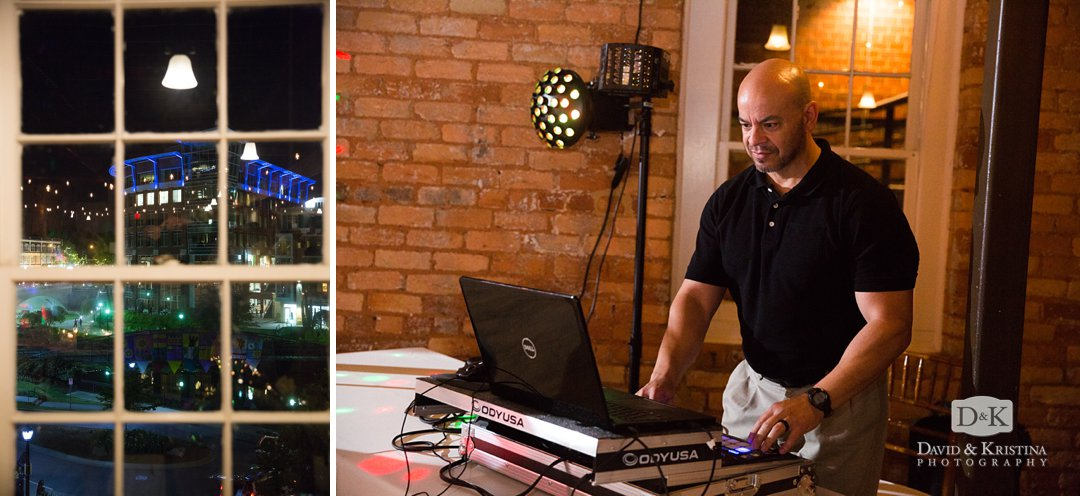 wedding DJ Tony de Lorenzi Gville DJ