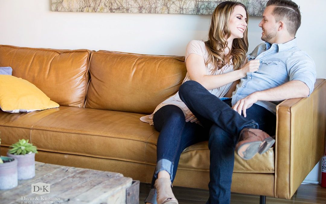 Engagement Photos in the Village of West Greenville | Anthony and Sarah