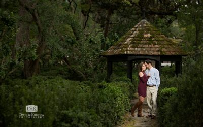 Lace House Gardens and USC Horseshoe Engagement Photos | Michael & Virginia