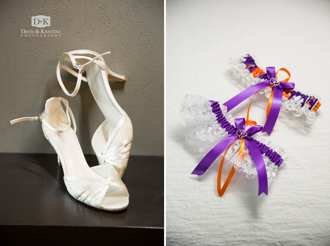 shoes and garter