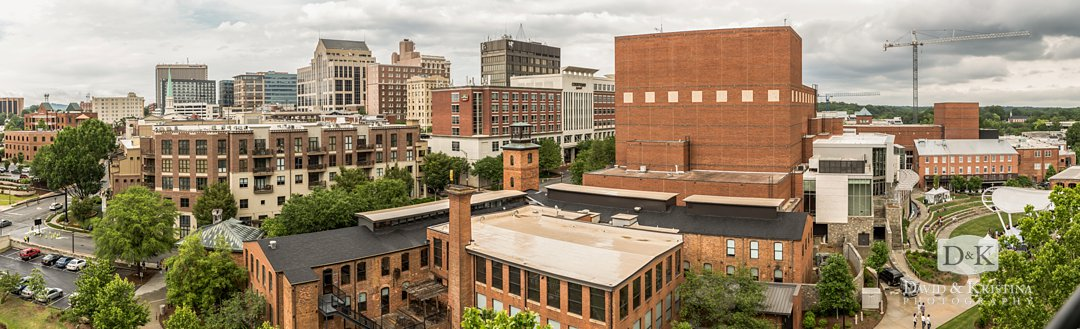 Downtown Greenville SC Skyline
