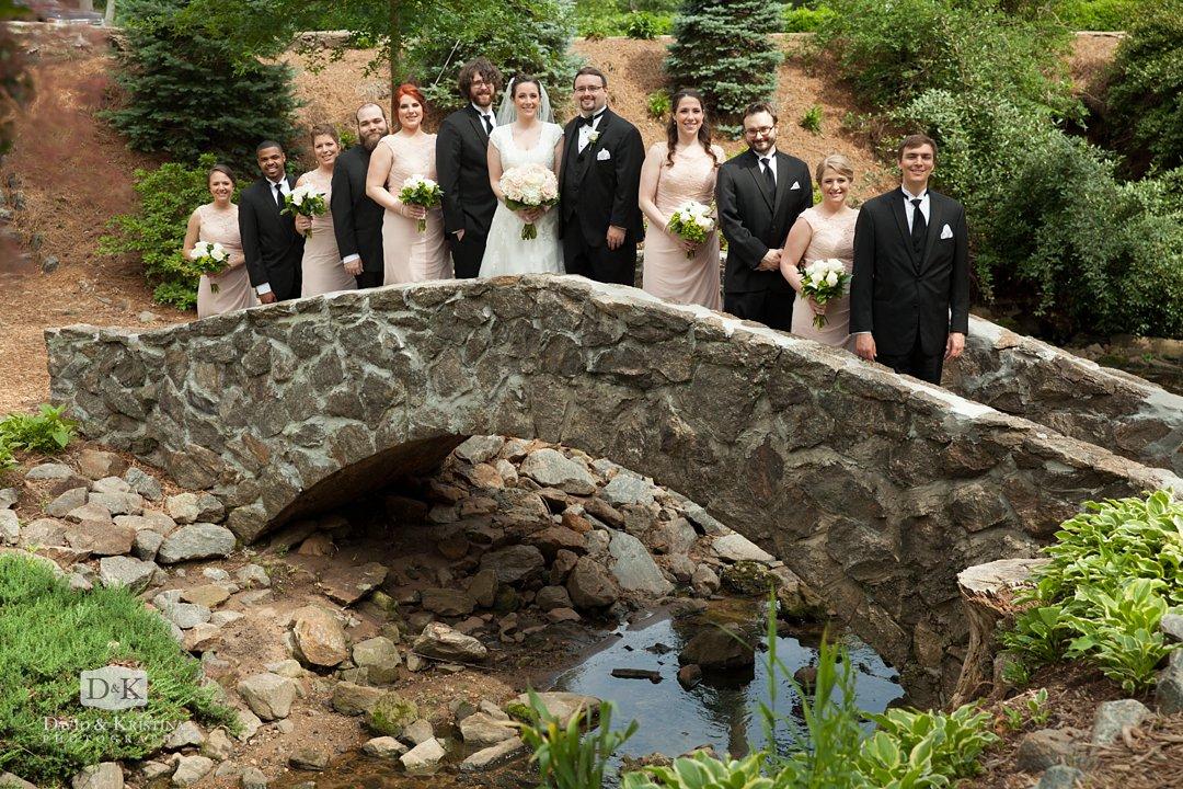 Stone bridge Rock Quarry Garden