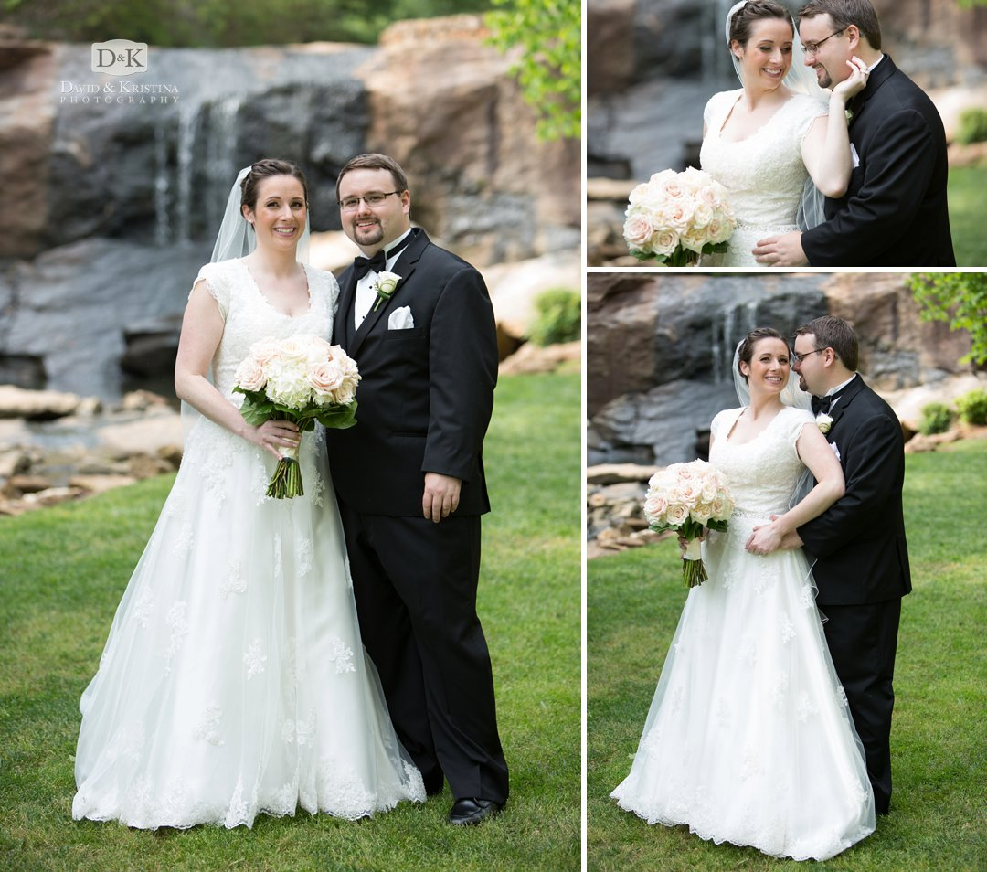 wedding photos in Rock Quarry