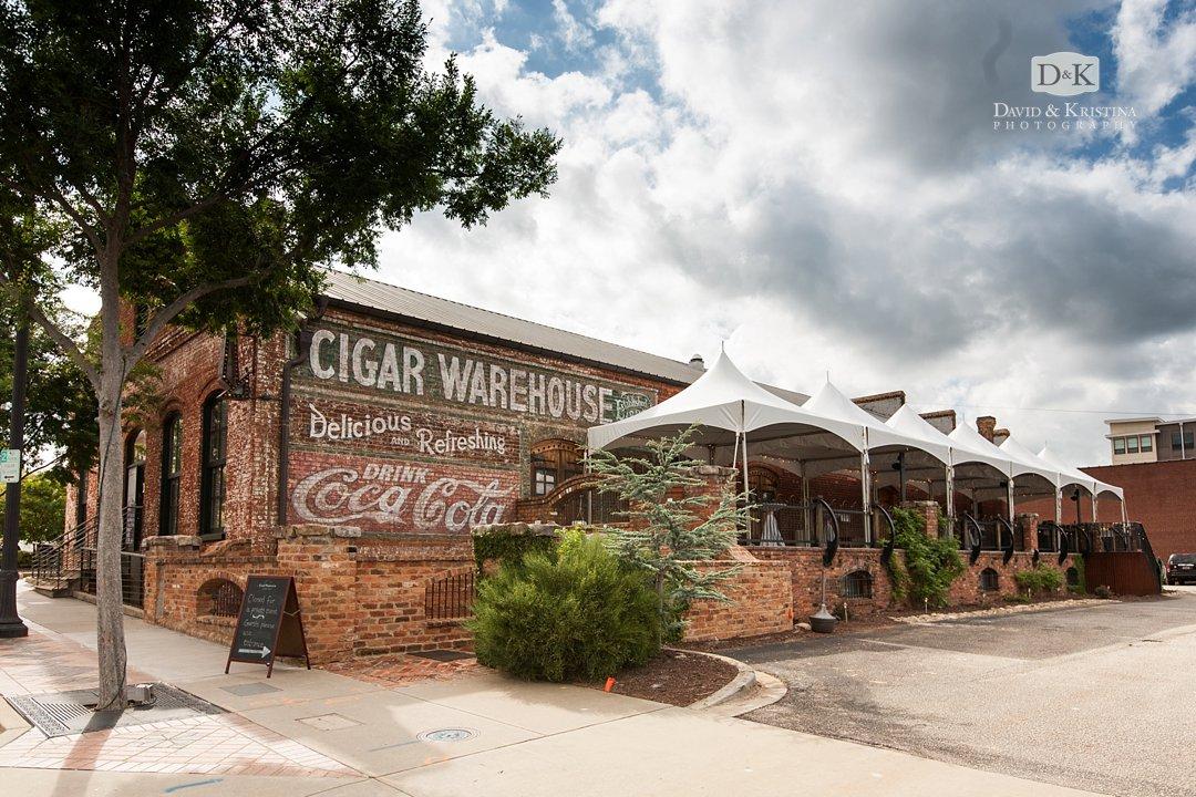 The Old Cigar Warehouse wedding venue