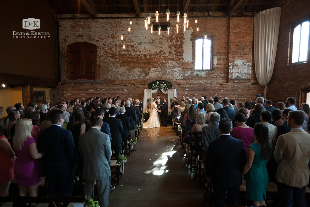 Old Cigar Warehouse wedding in May