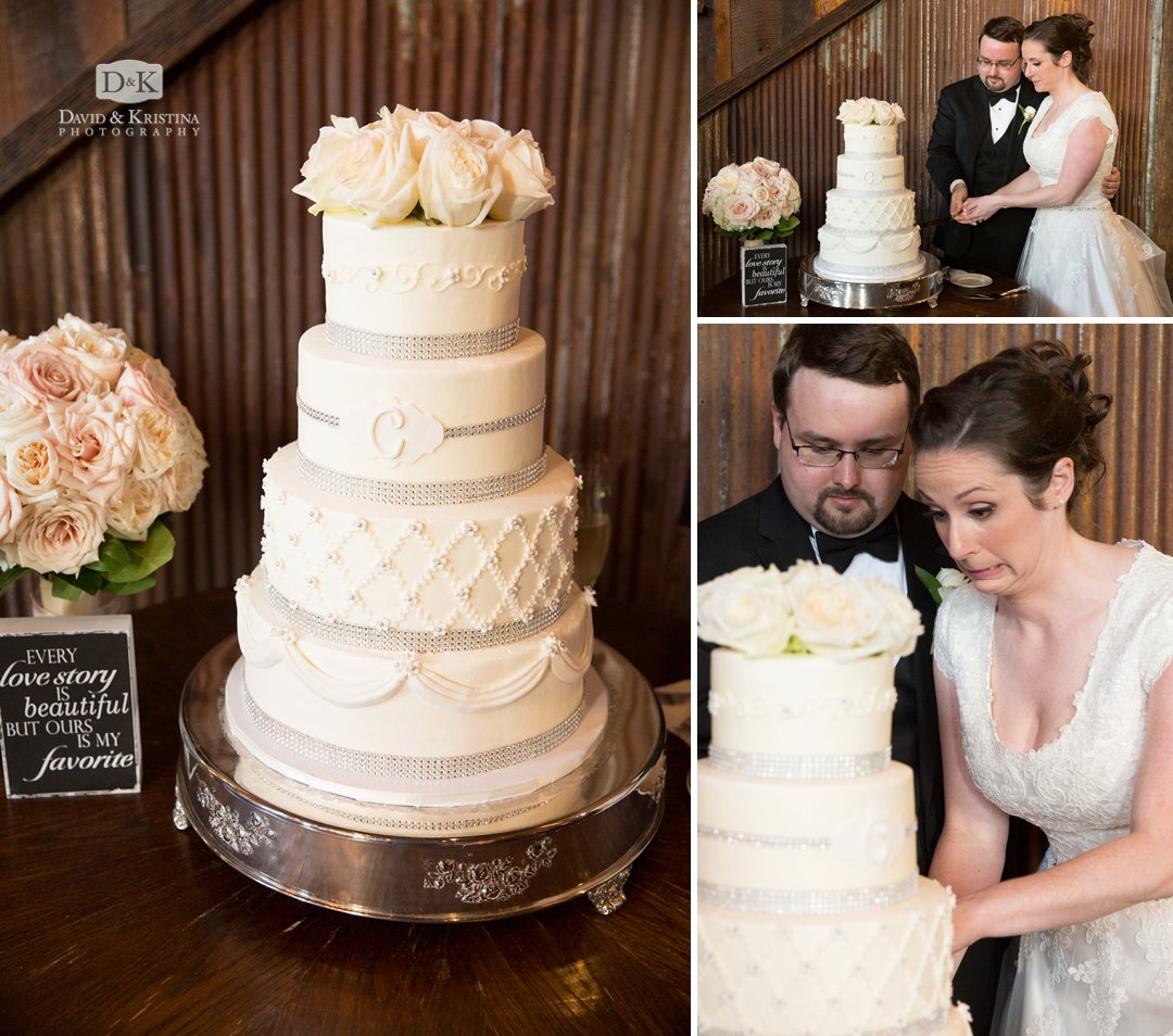 Cake by Couture Cakes of Greenville