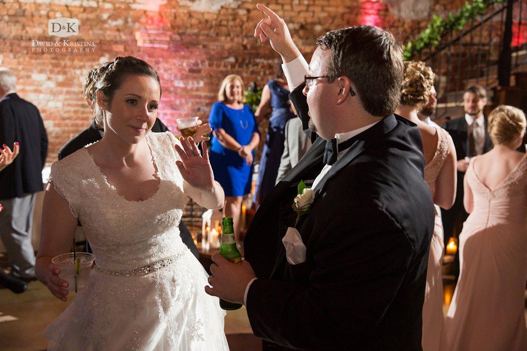 Wedding reception at Old Cigar Warehouse