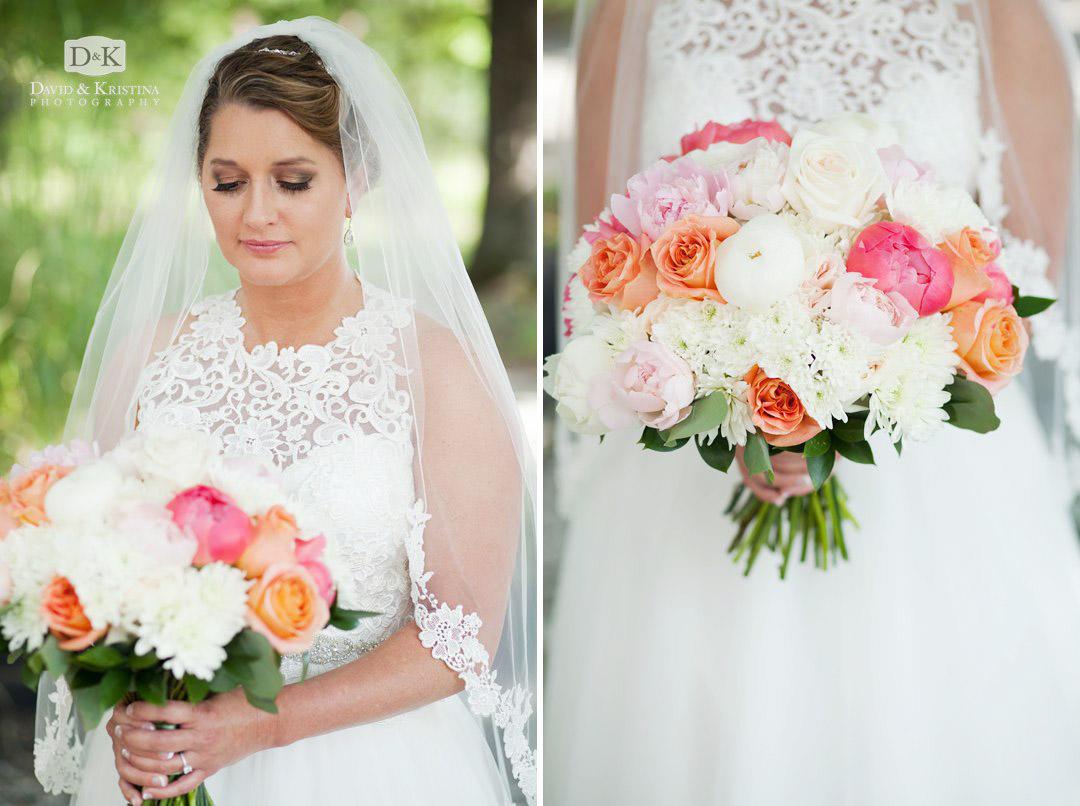 bride's wedding bouquet by Twigs Greenville
