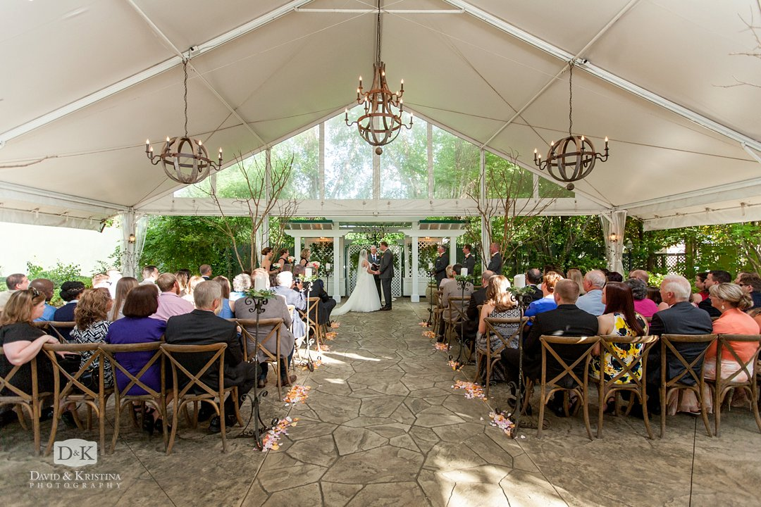 Twigs Tempietto wedding tent