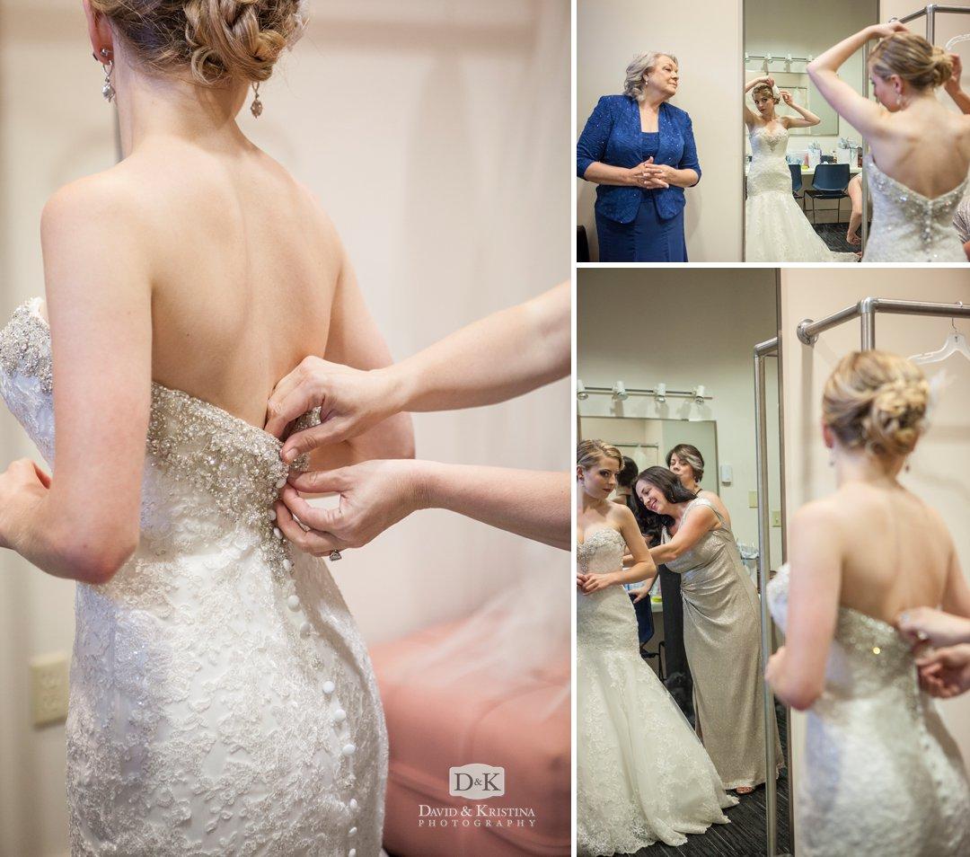 bridal suite at Furman Daniel Chapel