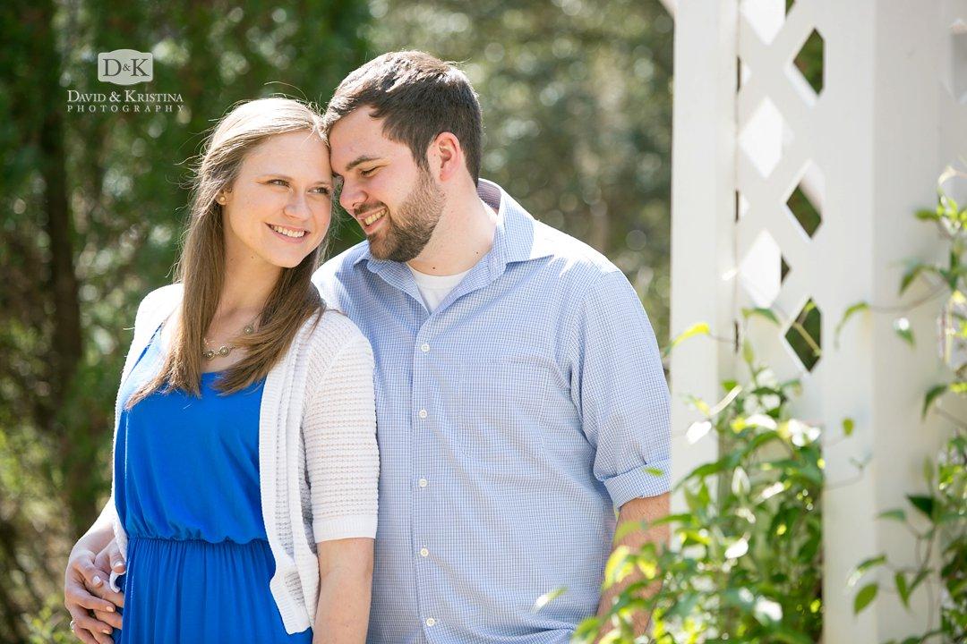 Rob and Amanda at the White Gazebo