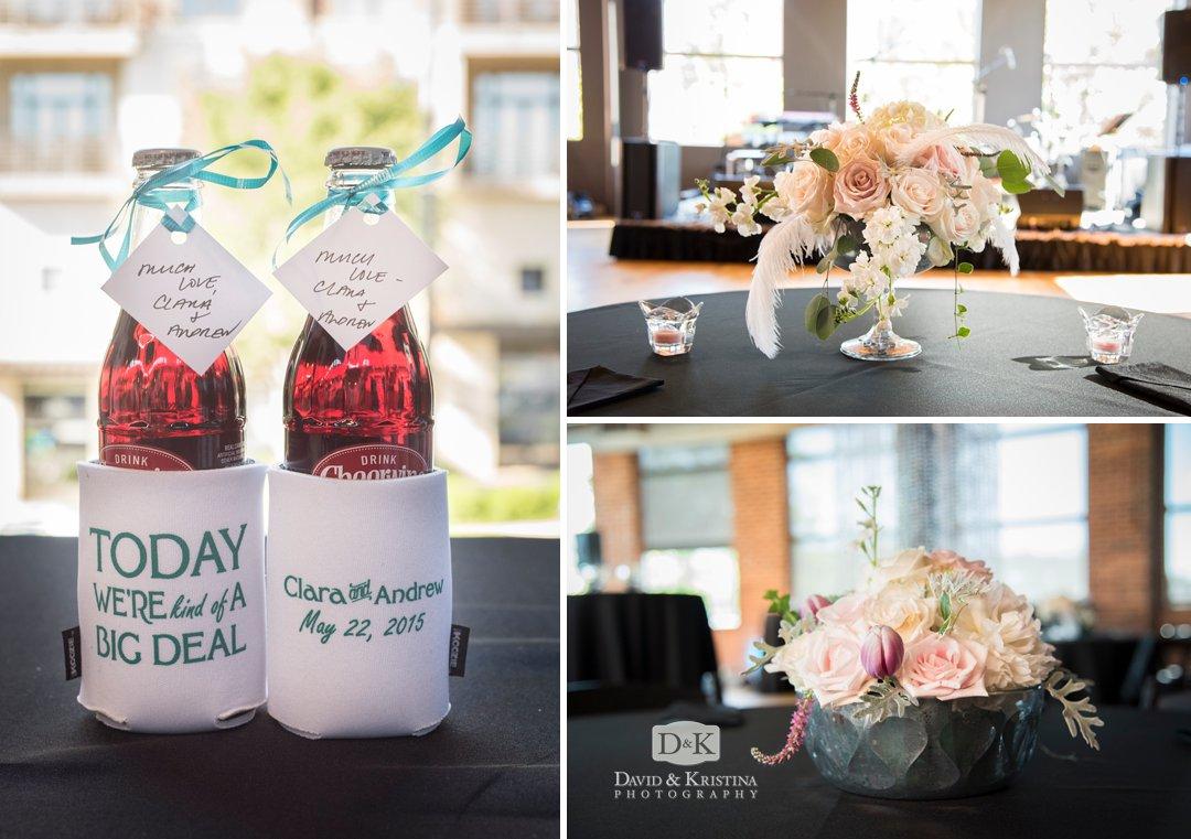 personalized wedding koozies wtih Cheerwine
