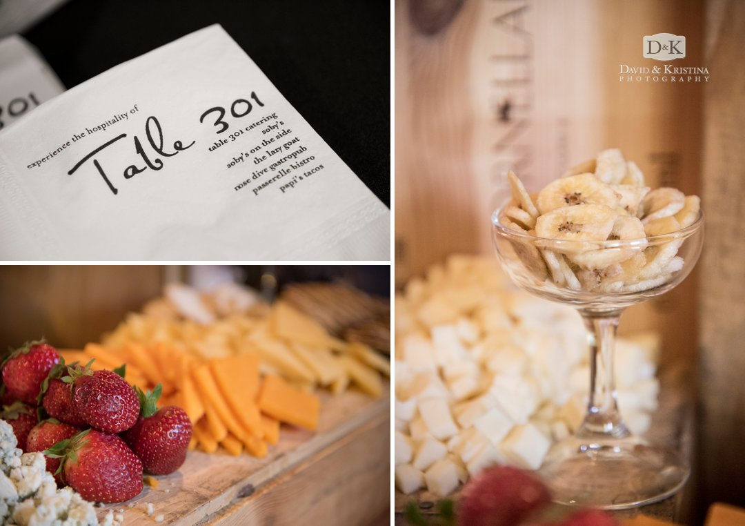 catering by Table 301