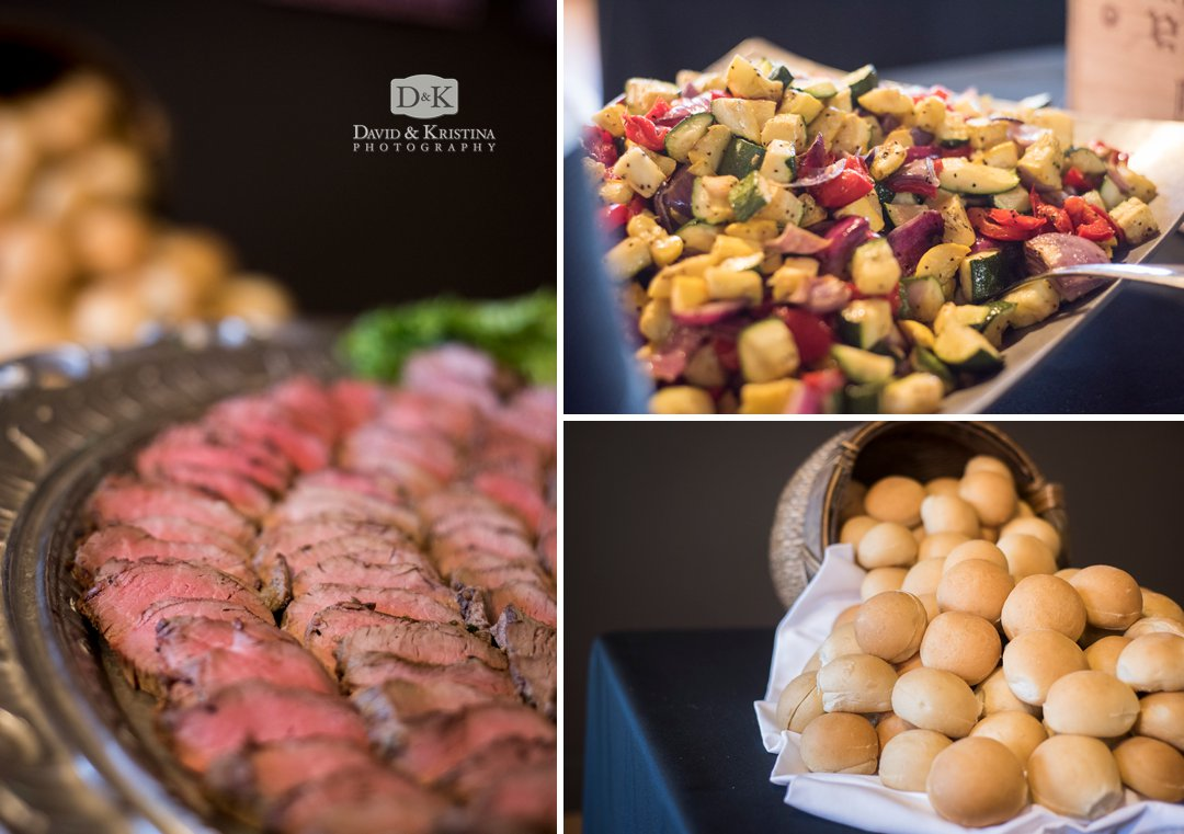 Table 301 wedding catering