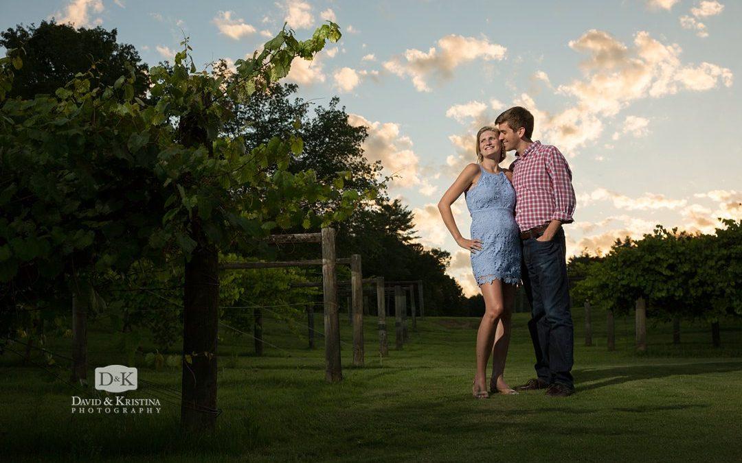 Cliffs at Keowee Vineyards Engagement Photos | Ben & Shannon