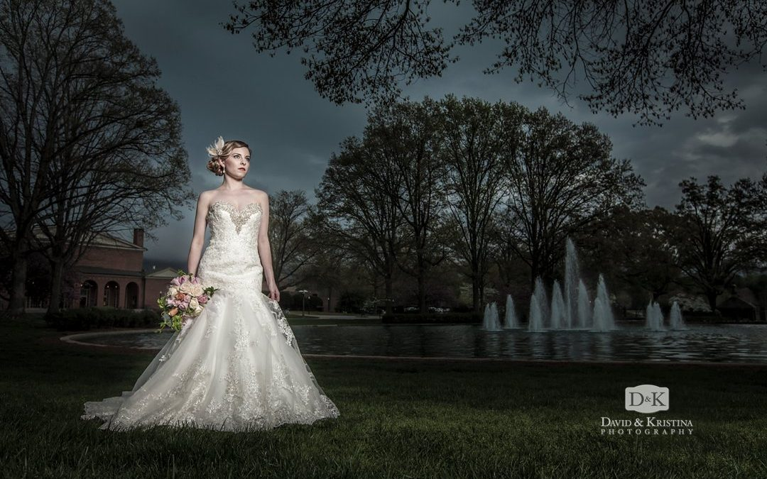 Furman Bridal Portrait Session in the Rain | Clara Clark