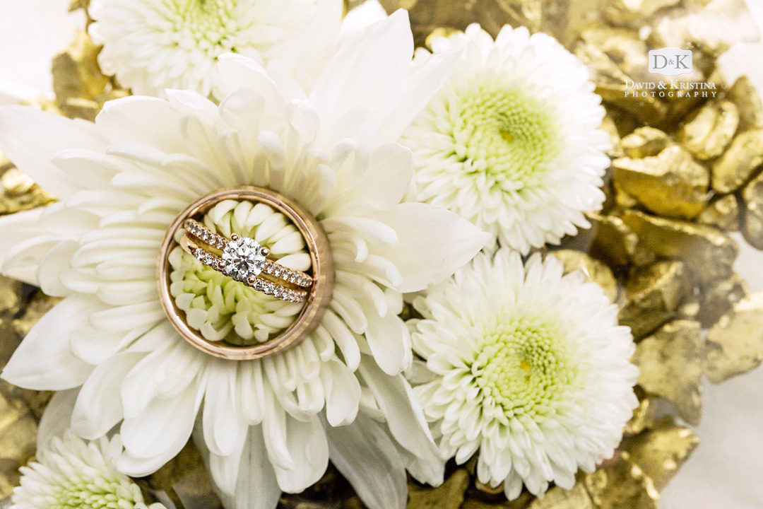 wedding rings in Twigs Flowers